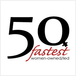 50 Fastest Women-Owned/Led Companies Logo